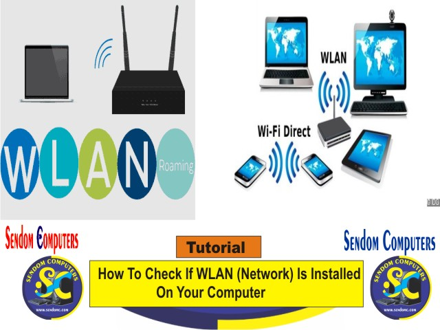 How To Check If WLAN (Network) Is Installed On Your Computer - Tutorial