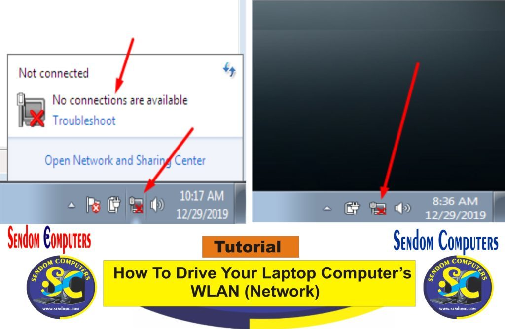 How To Drive Your Laptop Computer's WLAN Network- Tutorial
