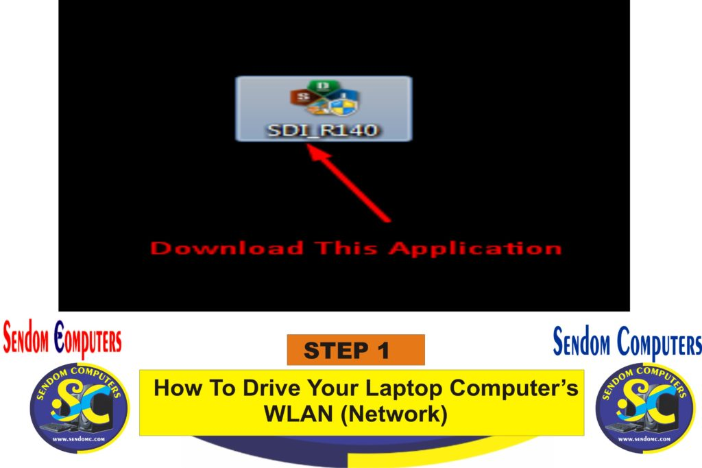 How To Drive Your Laptop Computer's WLAN Network- Step 1