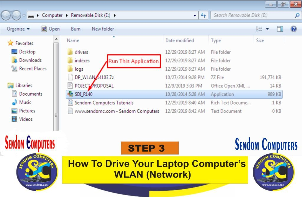 How To Drive Your Laptop Computer's WLAN Network- Step 3