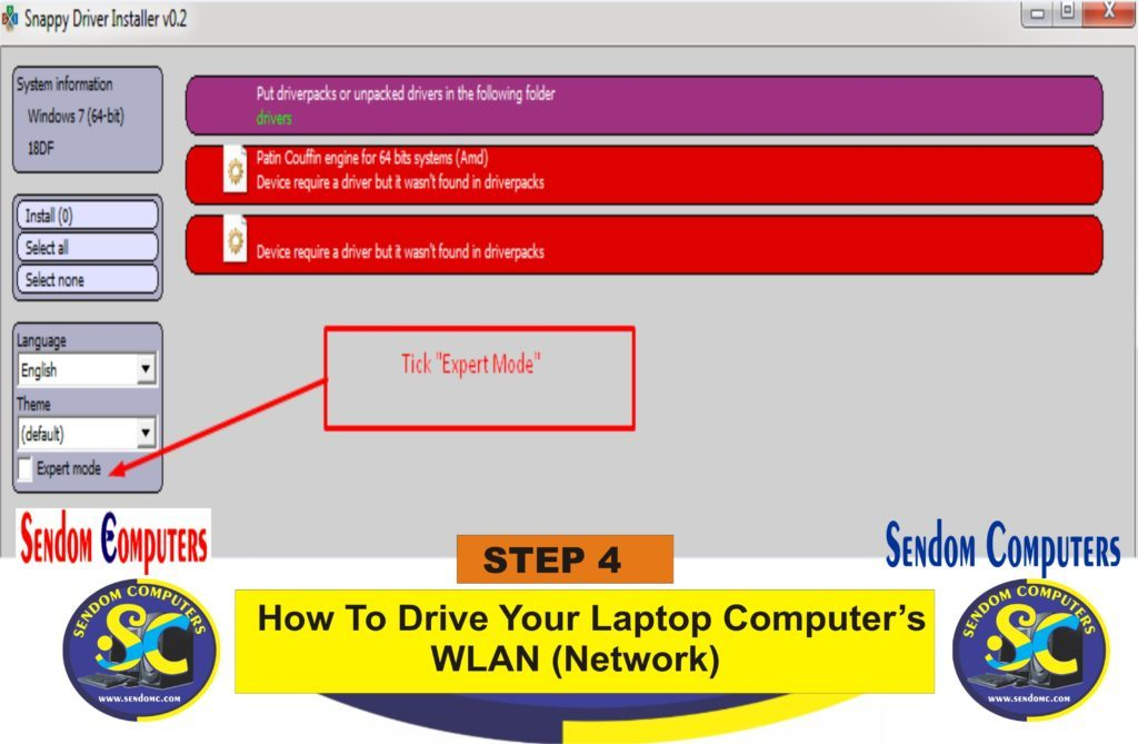 How To Drive Your Laptop Computer's WLAN Network- Step 4