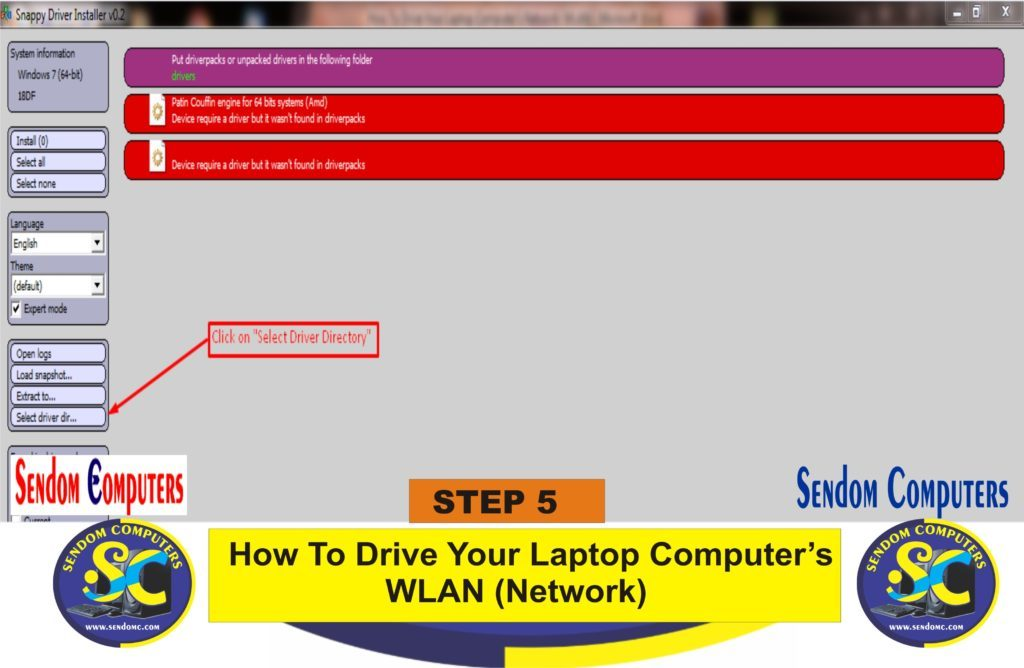 How To Drive Your Laptop Computer's WLAN Network- Step 5