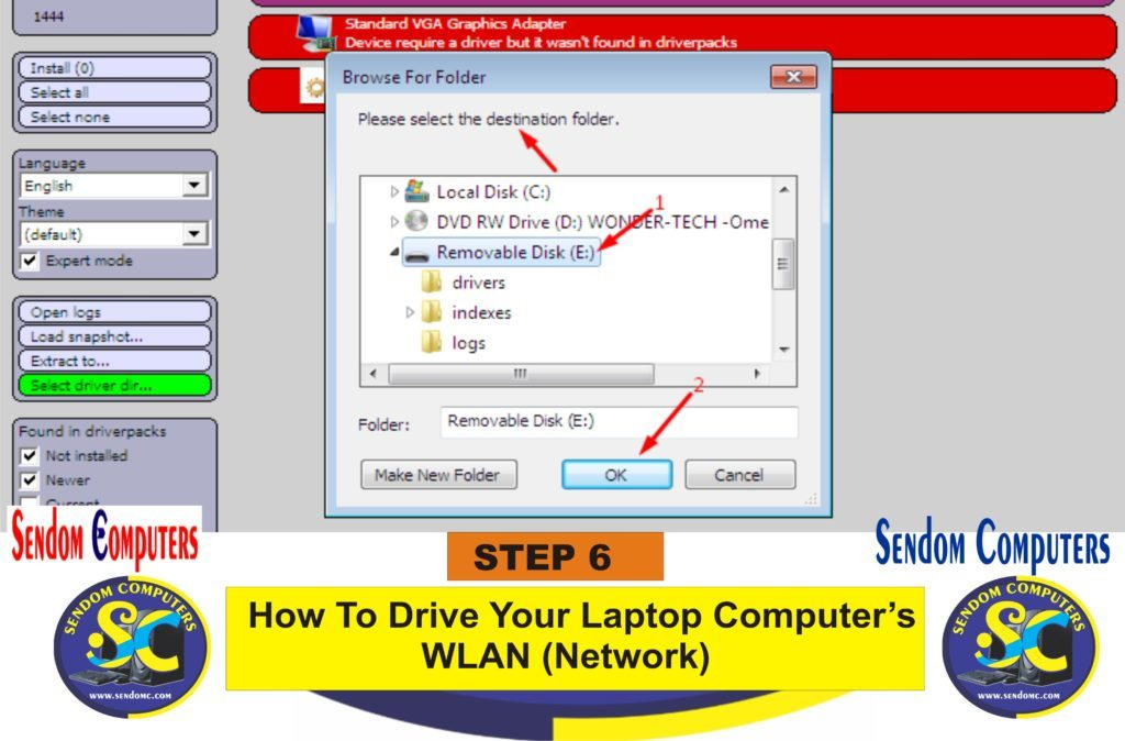 How To Drive Your Laptop Computer's WLAN Network- Step 6