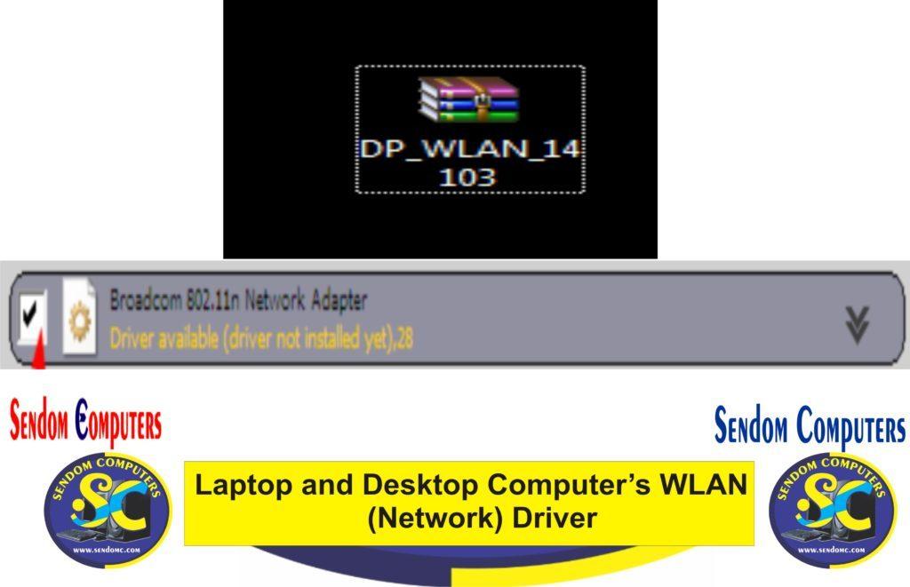Laptop and Desktop Computer's WLAN (Network) Driver
