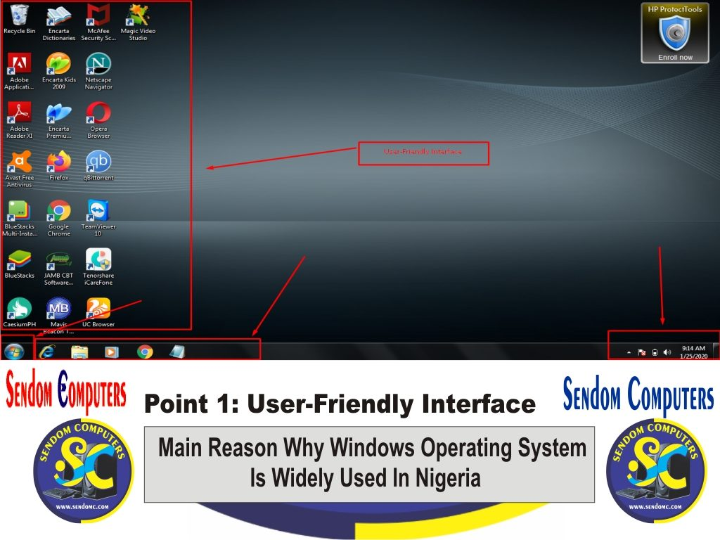 Main Reason Why Windows Operating System is Widely Used In Nigeria - Point 1