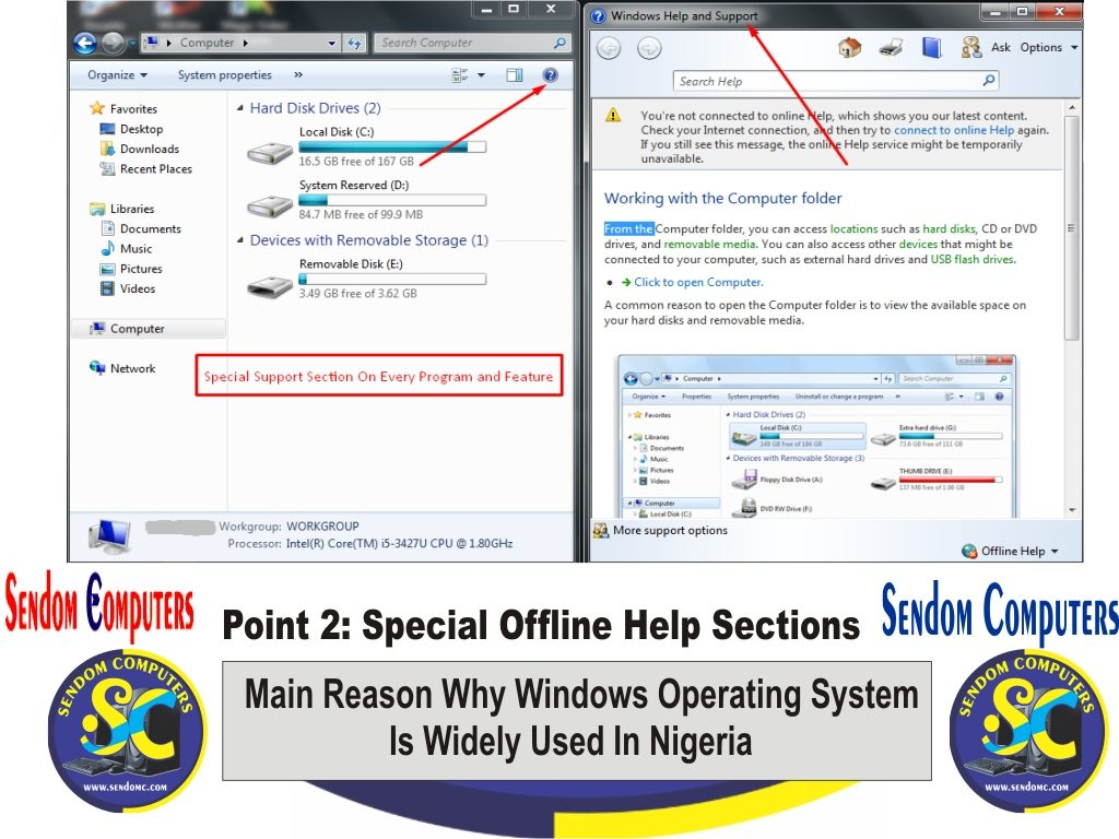 Main Reason Why Windows Operating System is Widely Used In Nigeria - Point 2