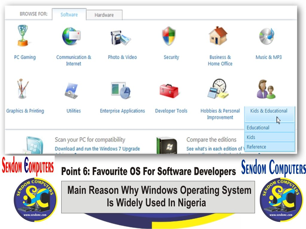 Main Reason Why Windows Operating System is Widely Used In Nigeria - Point 6