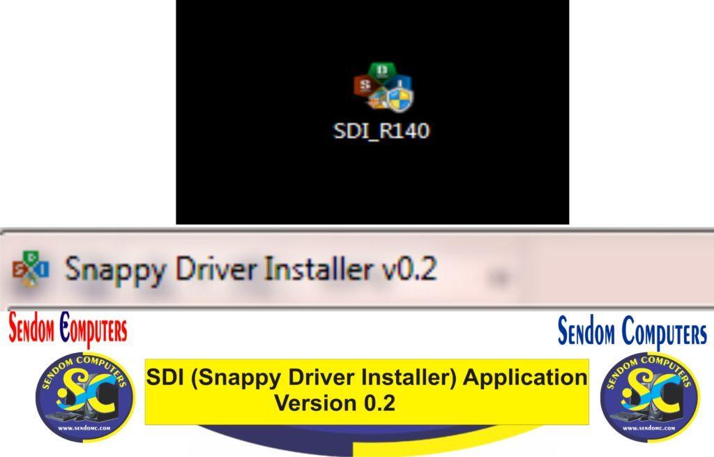 SDI (Snappy Driver Installer) Application- Version 0.2